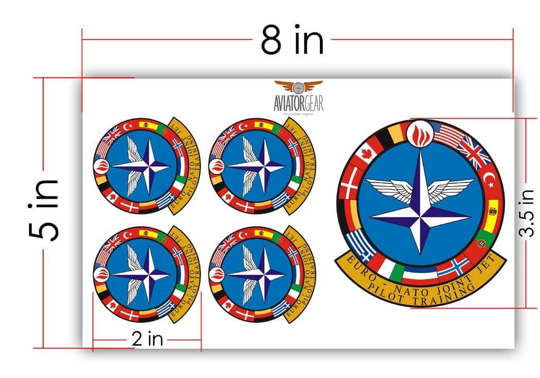 5x8 in zap collage sticker sample 3
