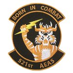 521 AEAS Iraqi Air Force International Custom Patches