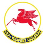 509th Weapons Squadron (509 WPS) Custom Patches