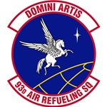93d Air Refueling Squadron (93 ARS) Custom Patches