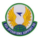 92d Operations Support Squadron (92 OSS) Custom Patches