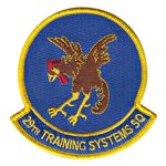 29th Training Systems Squadron (29 TSS) Custom Patches