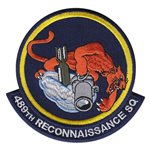 489th Reconnaissance Squadron (489 RS) Custom Patches