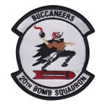 20th Bomb Squadron Custom Patches
