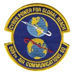 608th Air Communications Squadron Custom Patches
