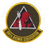 96th Bomb Squadron (96 BS) Custom Patches