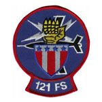 121 FS Air National Guard Custom Patches