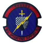 181 OSS Air National Guard U.S. Air Force Custom Patches