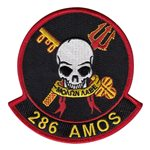 286 AMOS Air National Guard U.S. Air Force Custom Patches