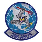 286 ASUS Air National Guard U.S. Air Force Custom Patches
