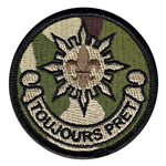 2 CR Toujours Patch U.S. Army Custom Patches