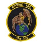 73d Special Operations Squadron (73 SOS) Custom Patches