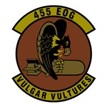 455 Expeditionary Operations Group (455 EOG) Custom Patches