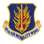 97 AMW Altus AFB U.S. Air Force Custom Patches