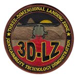 3D-LZ Eglin AFB, FL U.S. Air Force Custom Patches