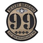 99th Expeditionary Reconnaissance Squadron (99 ERS) Custom Patches