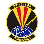 570th Global Mobility Readiness Squadron (570 GMRS) Custom Patches