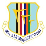 60th Air Mobility Wing (60 AMW) Custom Patches