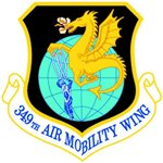 349th Air Mobility Wing (349 AMW) Custom Patches