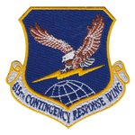 615th Contingency Response Wing (615 CRW) Custom Patches