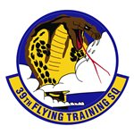 39th Flying Training Squadron (39 FTS) Custom Patches