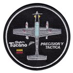 Colombian Air Force Custom Patches