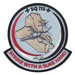 115 Squadron Iraqi Air Force International Custom Patches