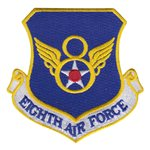 Eighth Air Force (8 AF) Custom Patches