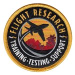 Flight Research Inc Civilian Custom Patches