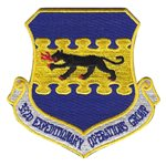 332 EOG 332 AEW International Custom Patches