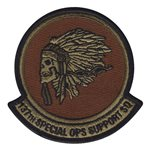 137 SOSS ANG Oklahoma Air National Guard U.S. Air Force Custom Patches