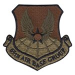 Lajes Air Base Custom Patches