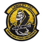 Langley TDC Langley AFB, VA U.S. Air Force Custom Patches