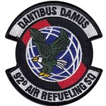 Fairchild AFB, WA U.S. Air Force Custom Patches