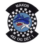 482d Operations Group (482 OG) Custom Patches