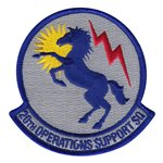 20th Operations Support Squadron (20 OSS) Custom Patches