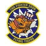 74 Fighter Squadron (74 FS) Custom Patches