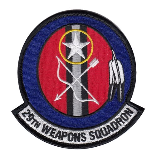 29 WPS Little Rock AFB, AR U.S. Air Force Custom Patches