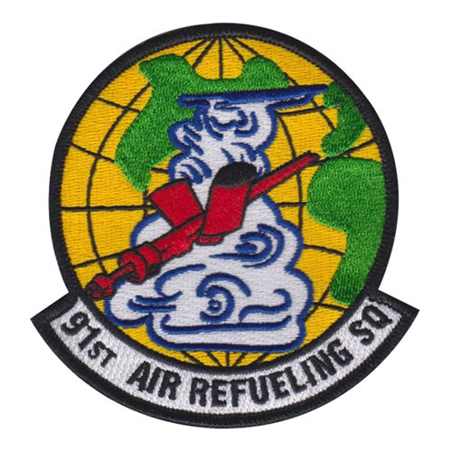 91 ARS MacDill AFB, FL U.S. Air Force Custom Patches