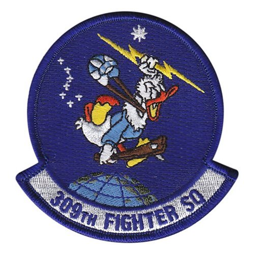 309 FS Luke AFB U.S. Air Force Custom Patches