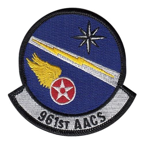961 AACS Kadena AB, Japan U.S. Air Force Custom Patches