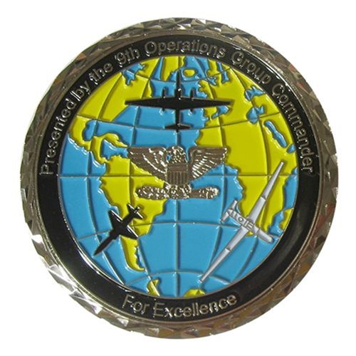 Beale AFB, CA Challenge Coins