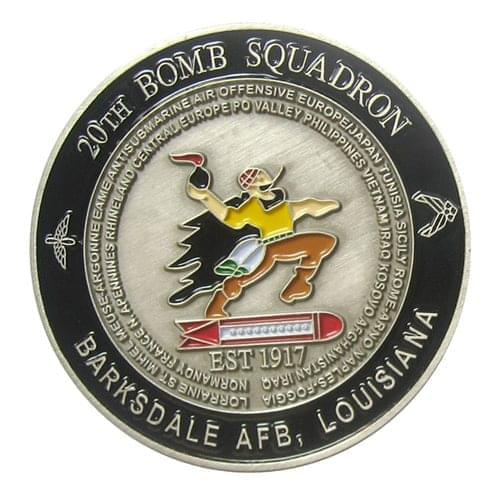 Barksdale AFB Challenge Coins