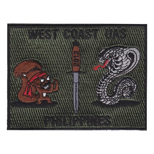 NAB Coronado U.S. Navy Custom Patches
