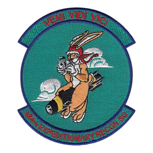 324 ERS International Custom Patches