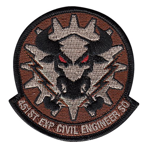 451 ECES International Custom Patches