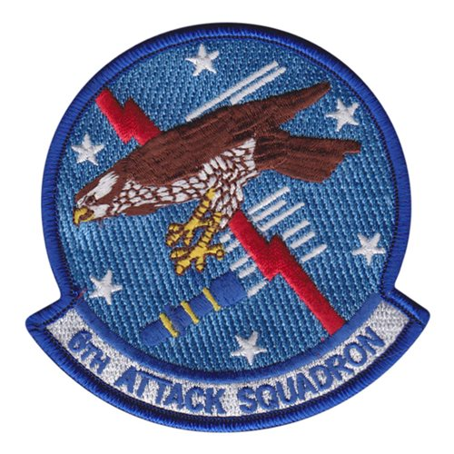 6 ATKS Holloman AFB, NM U.S. Air Force Custom Patches