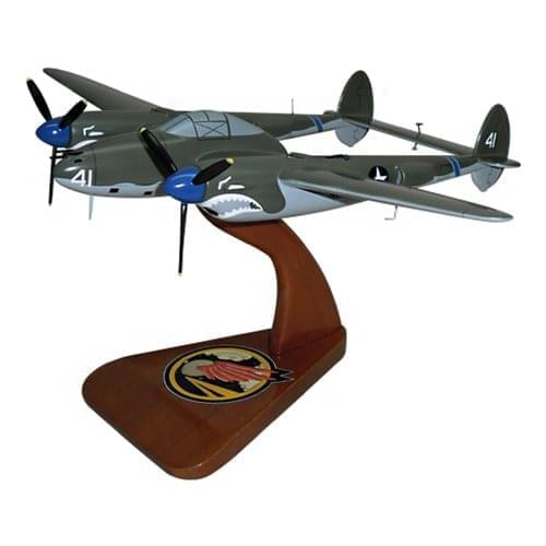 P-38 Lightning Fighter Aircraft Models