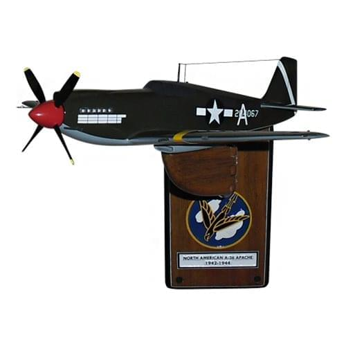 A-36 Apache Attack Aircraft Models