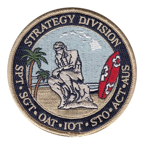 613 AOC Hickam AFB, HI U.S. Air Force Custom Patches